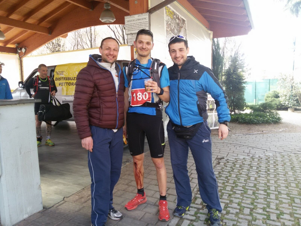 Sergio, Andrew e Ricky all'Electric Trail
