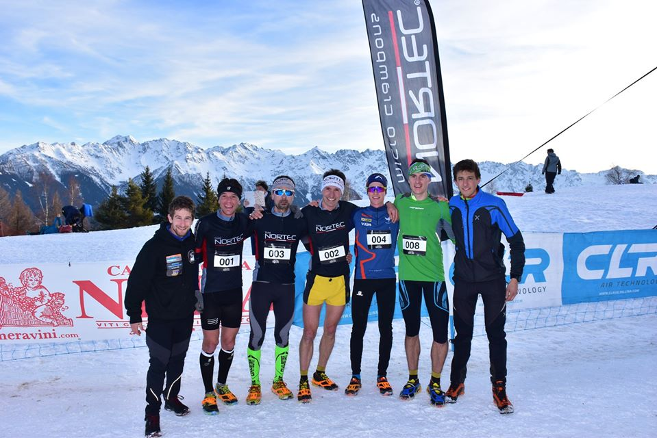 Del Pero 3° alla Teglio Sunset Winter Run